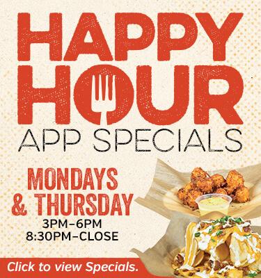 Good Buddy's Happy Hour App Specials