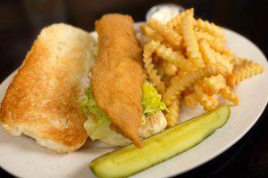 Haddock Fish Fry Sandwich