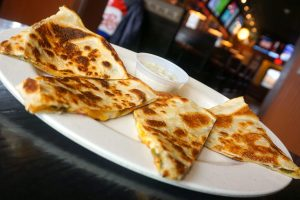 Five-Cheese Quesadilla