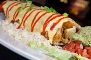 Buddy's Big Bad Beef Burrito