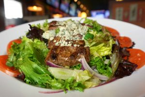 Black And Bleu Steak Salad
