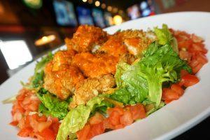 Buffalo Crunchy Chicken Salad