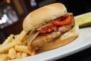 Basilio Sausage Burger