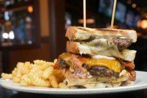 Knife And Fork Burger Melt