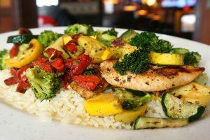 Chicken & Garden Plate
