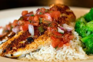 Southwest Grilled Haddock