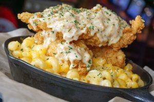 Crunchy Chicken Mac